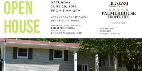 OPEN HOUSE - Newly Renovated Decatur Home tickets