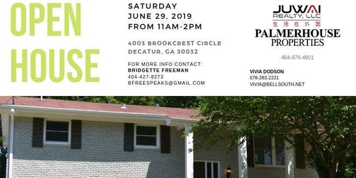 OPEN HOUSE - Newly Renovated Decatur Home