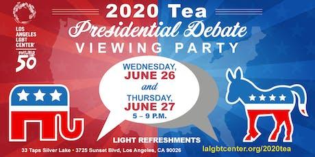 2020 Tea: Presidential Debate Viewing Party tickets