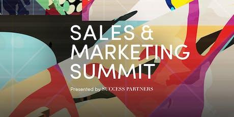 Sales & Marketing Summit tickets