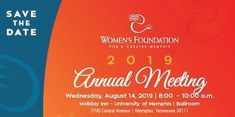 2019 Women's Foundation for a Greater Memphis Annual Meeting tickets