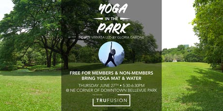 TruFusion Yoga in the Park 6/27 tickets