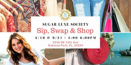 Sip, Swap & Shop Event Series tickets