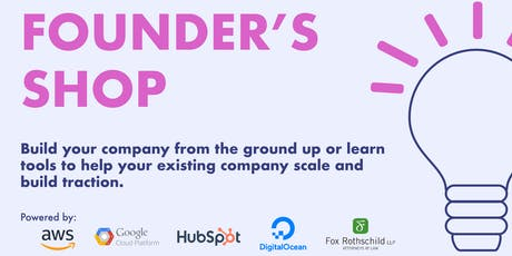 Founder's Shop: From Idea to Business in a 2-Day Workshop tickets