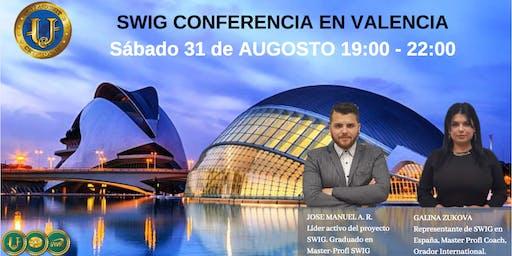 Te invitamos a nuestro evento de SWIG y STO CRYPTOUNIT en VALENCIA