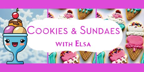 Cookies & Sundaes with The Ice Queen tickets