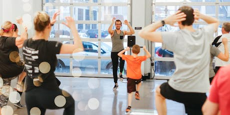 FREE POP-UP WORKOUT WITH JEFF ROGERS  tickets