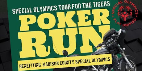 Special Olympics Poker Run tickets