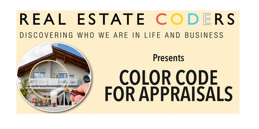 Color Code for Appraisals