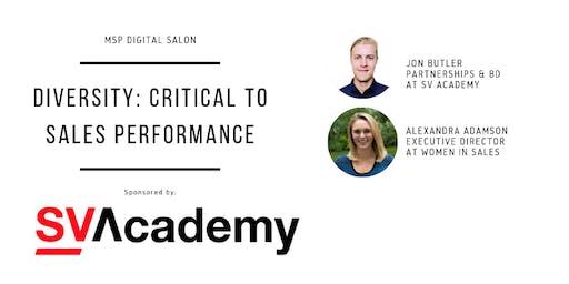 Modern Sales Pros Digital Salon - Diversity: Critical to Sales Performance