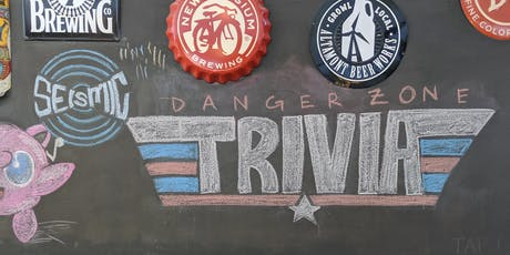 Seismic Danger Zone Beer Release and Trivia Night tickets