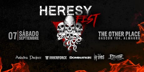 Heresy Fest - Volumen 2 entradas