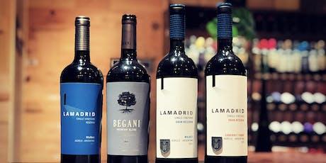 Premium Wines. Bodega Lamadrid entradas
