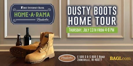 Dusty Boots Home Tour  |  A Home-A-Rama Preview tickets