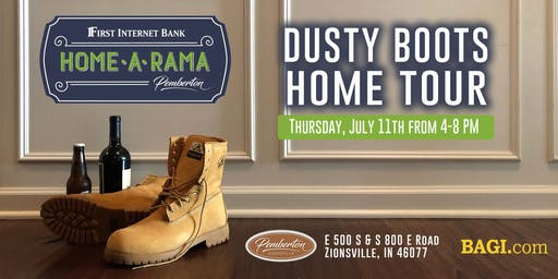 Dusty Boots Home Tour  |  A Home-A-Rama Preview