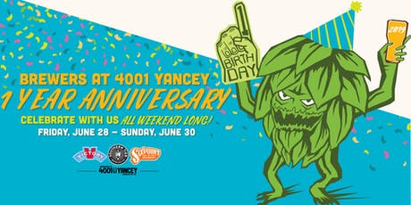 Brewers at 4001 Yancey Brewery Tour! tickets