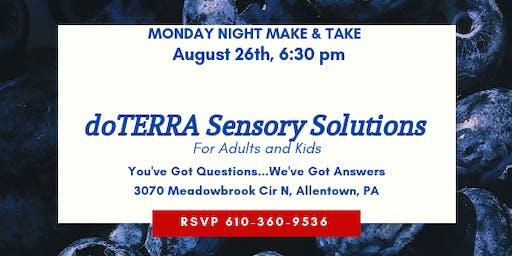 doTERRA Sensory Solutions Make & Take