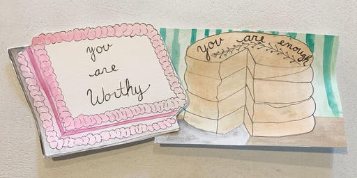 Affirmation Cake Decorating