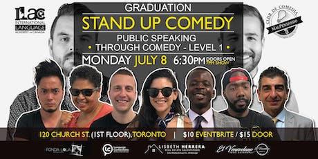 Grad Show: Public Speaking Through Comedy Workshop - Level 1 tickets