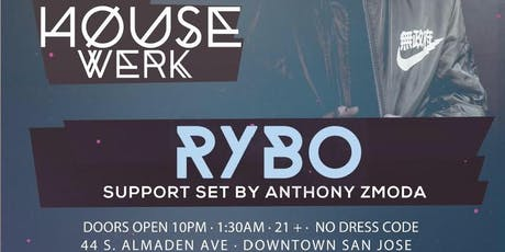 RYBO (Desert Hearts) at LVL44, July 18th Northern Nights Pre Party tickets