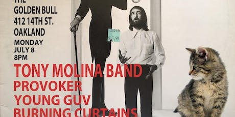 Tony Molina Band / Provoker / Young Guv / Burning Curtains tickets