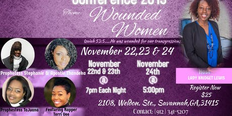Wounded Women Conference tickets