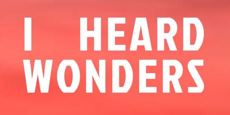 I HEARD WONDERS - WITH DAVID HOLMES - BEACH PARTY - COSTA da CAPARICA - POSTO 9 tickets