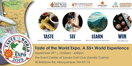 Taste of the World Travel Expo - a 55+ World Experience tickets