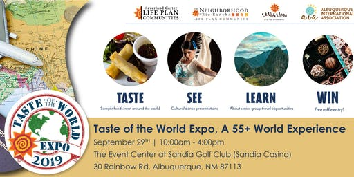 Taste of the World Travel Expo - a 55+ World Experience