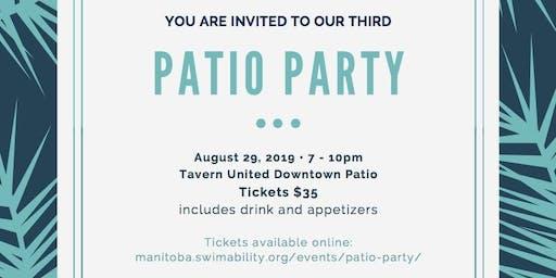 3rd Annual Manitoba SwimAbility Patio Party