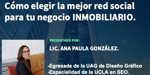COMO ELEGIR LA MEJOR RED SOCIAL PARA TU NEGOCIO INMOBILIARIO