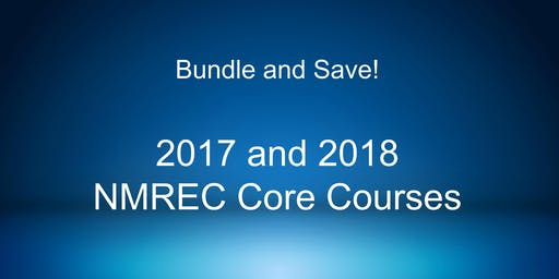 Bundle and Save 10%! 2017 and 2018 Core Courses.