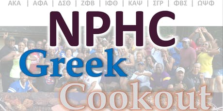 2019 NPHC Greek Cookout tickets