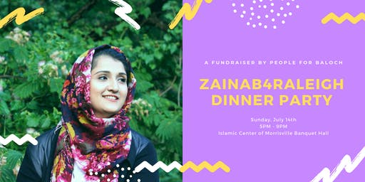 Zainab4Raleigh 2019 Fundraiser: Claim Your City