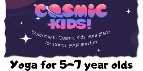 Cosmic Kids Yoga Holiday session tickets
