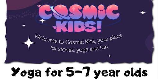 Cosmic Kids Yoga Holiday session