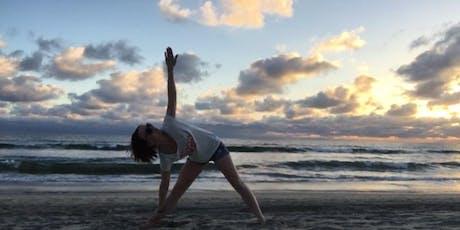 Beach Yoga with YogaBrain tickets