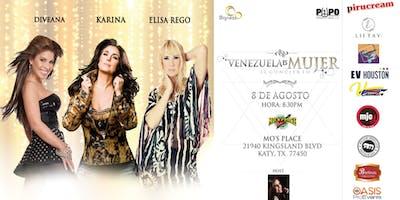 VENEZUELA ES MUJER, KARINA, DIVEANA, ELISA REGO - KATY TX