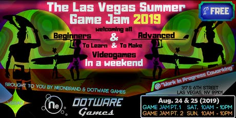 The Las Vegas Summer Game Jam (2019) tickets