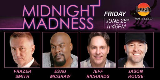 Esau McGraw, Jeff Richards, Jason Rouse and Frazer Smith - Midnight Madness