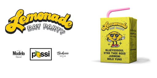 Possi Presents: Lemonade Day Party June 30th