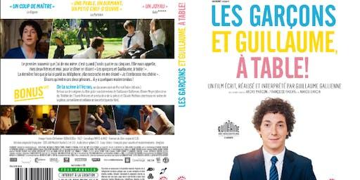 Tuesday French Movie Night: Les garçons et Guillaume à table !