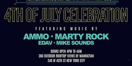 4th Of July Celebration At HighBar Rooftop tickets