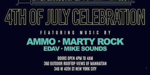 4th Of July Celebration At HighBar Rooftop