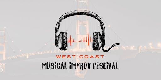 West Coast Musical Improv Fest - StaceJam, Rook, La Spazzatura