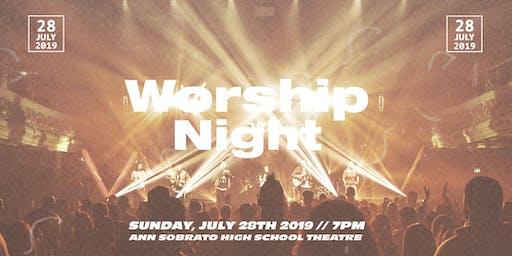 VIVE Morgan Hill Worship Night