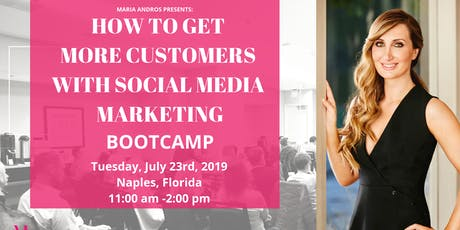 Learn How To Get More Customers From The Internet w/ Social Media Marketing tickets