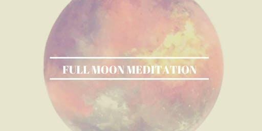 Full Moon Ceremony and Meditation