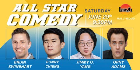 Jimmy O Yang, Ronny Chieng and more - Special Event All-Star Comedy tickets