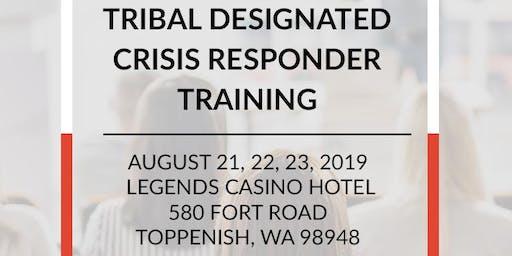 AIHC Tribal Designated Crisis Responder Training